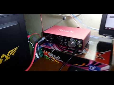 Test Sound + Review Focusrite Scarlett 2i2 Studio Indonesia