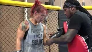 Cris Cyborg:  How champions train