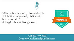 Boulder Back Pain Clinic REVIEWS - Boulder, CO Chiropractor Reviews