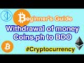 Transferring Money from coins.ph to BDO