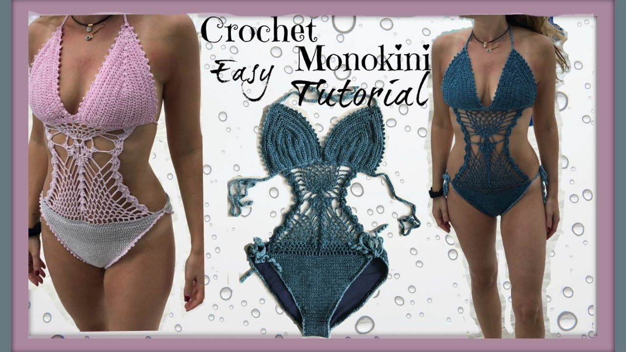 Easy Crochet Monokini Tutorial Youtube