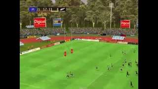 All Blacks vs Manu Samoa test match Rugby 08