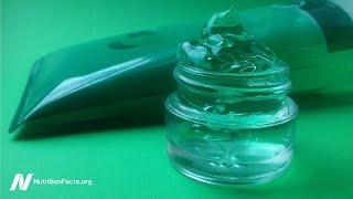 Aloe vera při léčbě lupénky