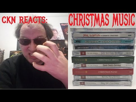 CKN REACTS to CHRISTMAS MUSIC