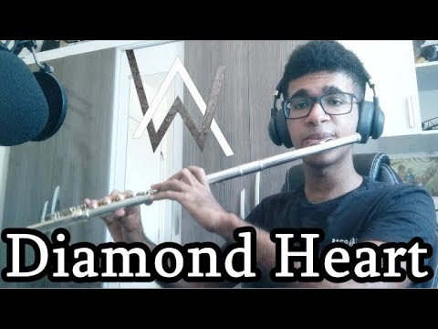 Alan Walker - Diamond Heart  Instrumental Flute Cover