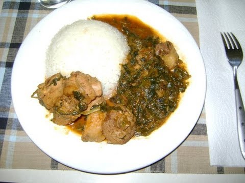Recette de cuisine: La sauce Epinard |  How to make Spinach Stew