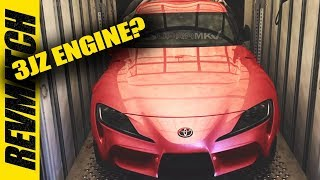 New 2020 Toyota Supra Engine - In Depth
