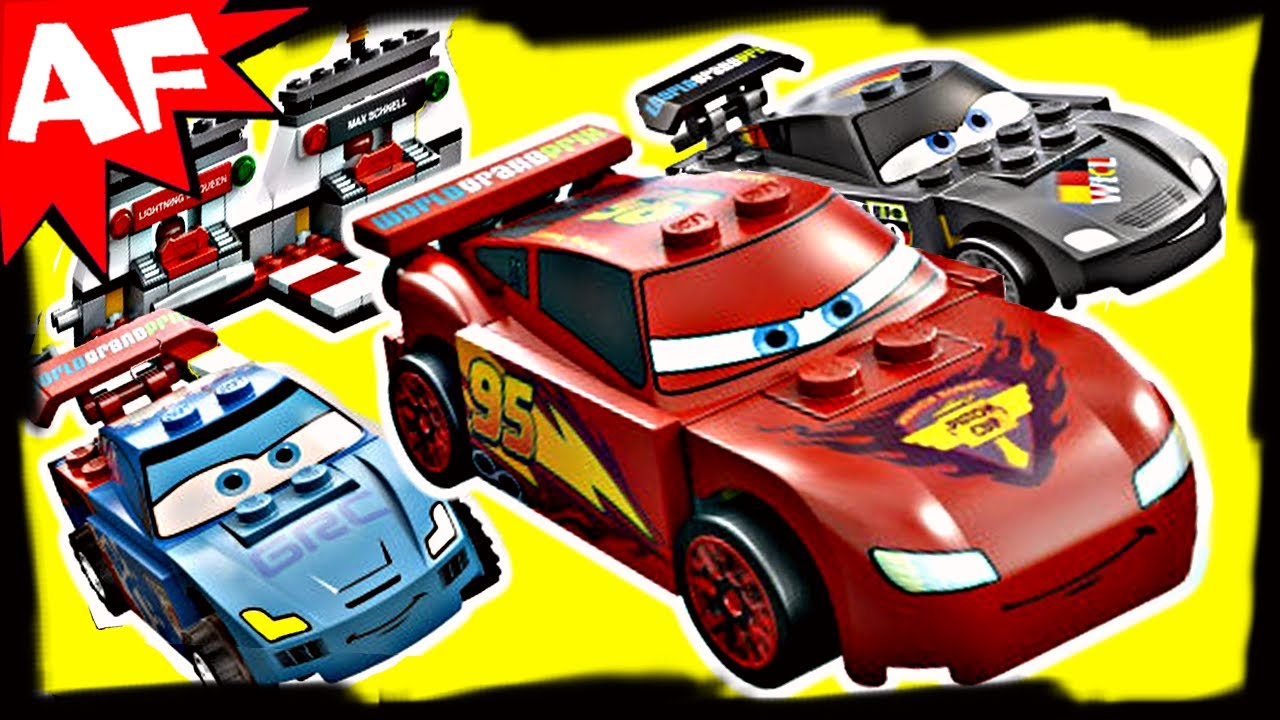 Lego Cars Ultimate Race Set Animated Building Review Youtube