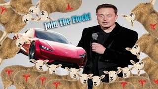 Elon Calling his Sheep to buy his New Toys!