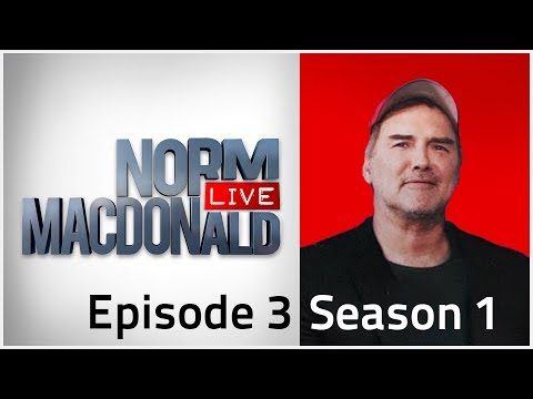 Norm Macdonald Live w/ Fred Stoller | Season 1 Episode 3