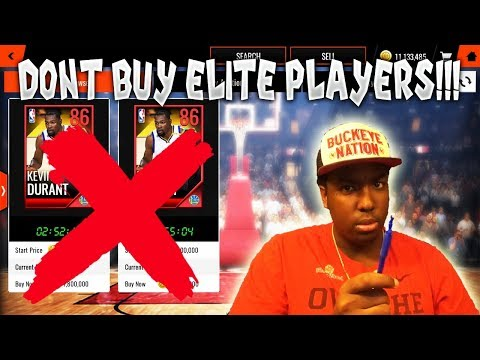 DON'T BUY ELITE PLAYERS IN NBA LIVE MOBILE 18!!!