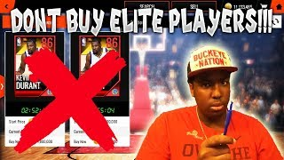 DON T BUY ELITE PLAYERS IN NBA LIVE MOBILE 18