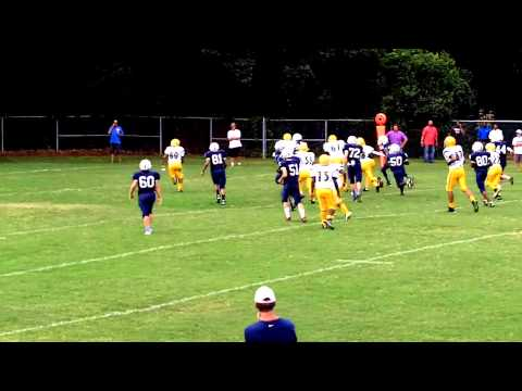 Daniels Middle School vs Ligon Middle School Football 2014