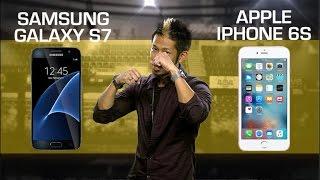 Samsung Galaxy S7 vs. Apple iPhone 6S (CNET Prizefight)