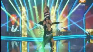 El Gran Show: Michelle Soifer y Josetty Hurtado encendieron la pista en el