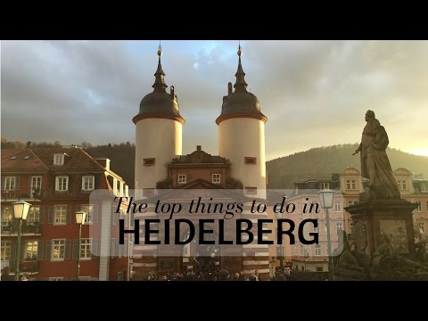 Top things to do in Heidelberg, Germany