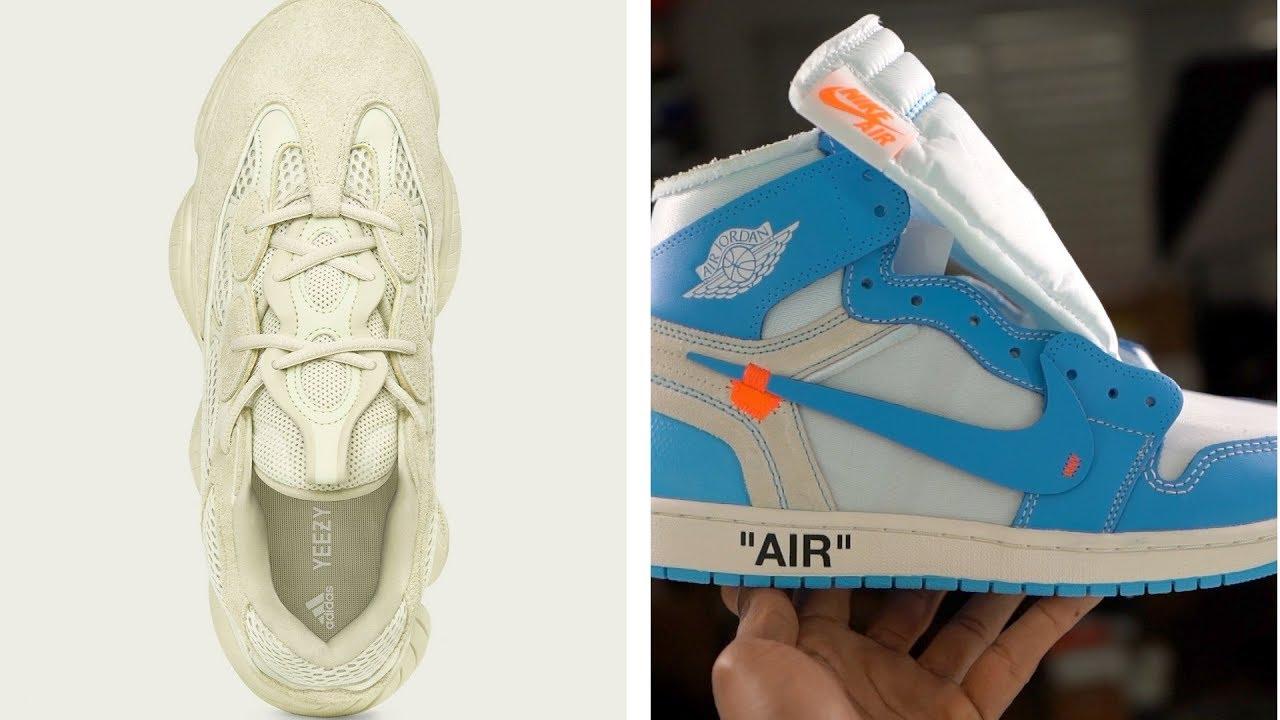 ADIDAS Yeezy 500 Sneaker vs JORDAN x