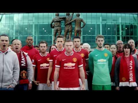 Glory, glory Man United! Chevrolet Shirt Revealed