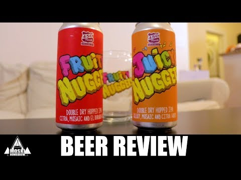 Fruity Nugget and Juicy Nugget 450 North Beer Review