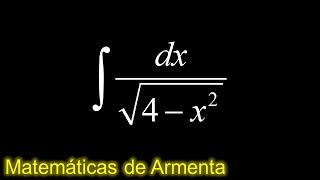 integracion por sustitucion trigonometrica ejemplo 2