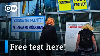 Germany begins mandatory coronavirus tests for travelers | DW News