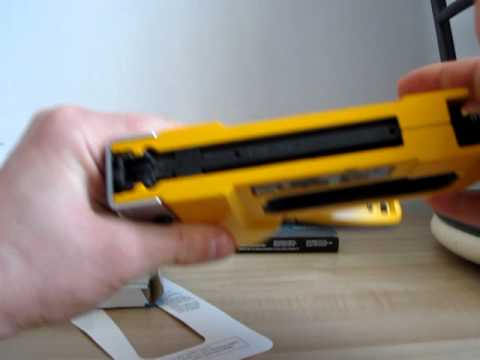 stanley sharpshooter staple gun manual