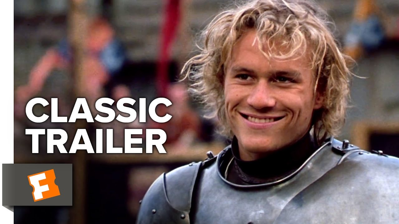 A Knight's Tale (2001) Official Trailer 1 - Heath Ledger Movie