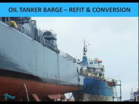 OIL TANKER BARGE – REFIT & CONVERSION