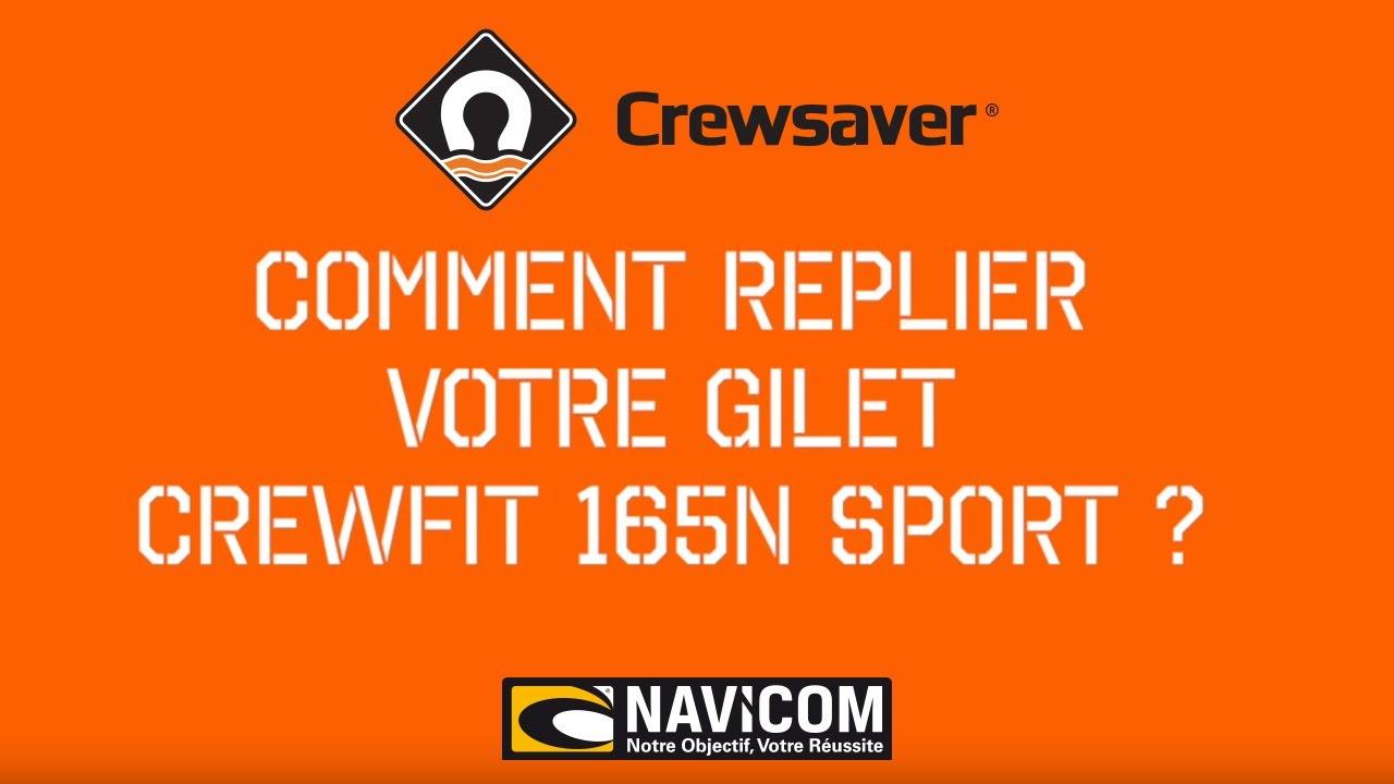 Harnais Crewfit 165N Sport Auto Gilet de sauvetage