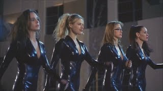 Breathtaking sexy female thieves! (with catsuits, without masks)