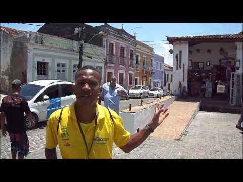 Passeio por Olinda - PE com o guia Eduardo Gomes - Setembro de 2012