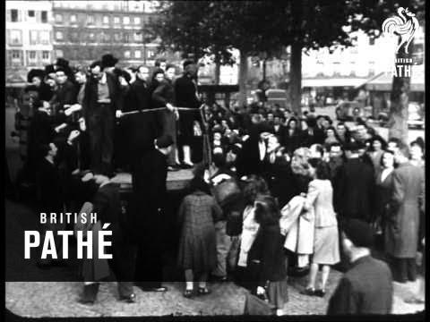 Paris Metro Strike (1947)