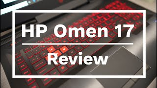 HP Omen 17 Premium Gaming Laptop Review