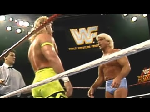 Shawn Michaels vs Ric Flair 12/16/91