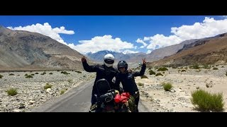 A Solo Bike Ride To Leh Ladakh June - 2016 , The Second And Final Leg Now Wife Joins As A Pillion