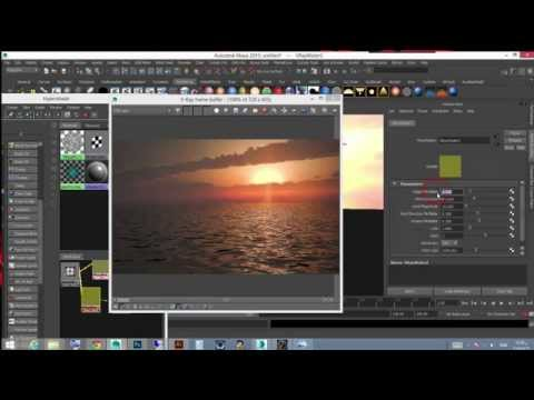 Artelligence tutorial How to create realistic ocean shader With Vray and maya