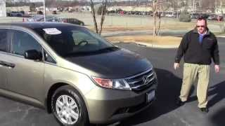 Certified Used 2012 Honda Odyssey LX for sale at Honda Cars of Bellevue...an Omaha Honda Dealer!