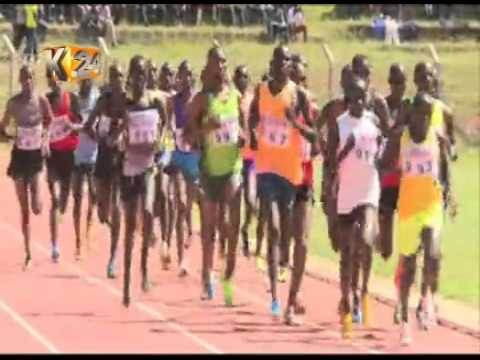 The 6th AK track and field meeting held at Kipchoge Keino stadium