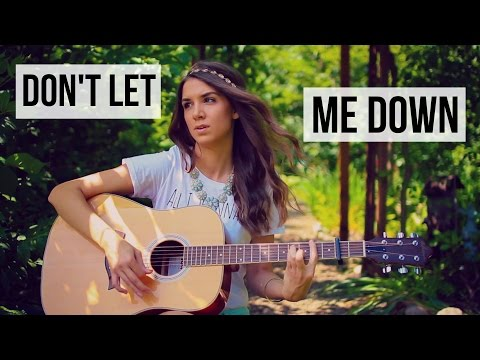 Don't Let Me Down - The Chainsmokers ft. Daya // Guitar Tutorial