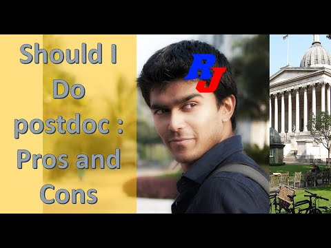 Should I Do Postdoc : Pros And Cons – Proper Discussion By ResearchersJob