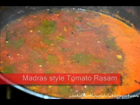 Madras Style Tomato Rasam w/ English Subtitles