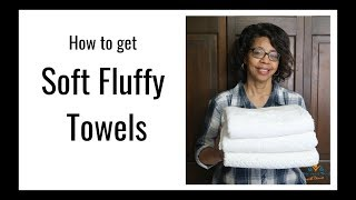 How to Make Towels Soft and Fluffy Again | Laundry Hacks How to Get Fluffy Towels