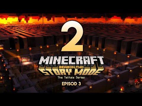 PANGKAT NERAKA~?! (Minecraft Malaysia) - Minecraft Story Mode Season 2 Part 2 | Episode 3