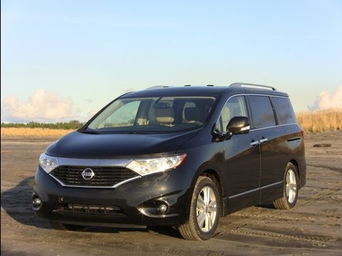 2012 Nissan Quest minivan road trip review & drive