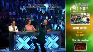 vietnams got talent 2012 - ban ket 5 - nhom vnfsk - ms 7