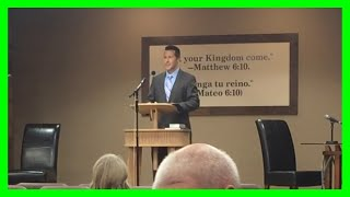 Brother Scott Raley at Ojai Kingdom Hall Christian Congregation of Jehovah