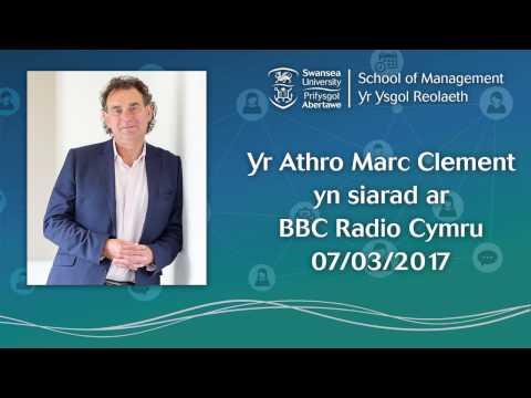 Yr Arthro Marc Clement, Radio Cymru 07/03/17