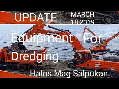 Manila Bay Update, March 18,2019 Equipment For Dredging Halos Mag Salpukan na/Miz July