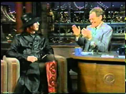 Marilyn Manson   Disastrous Interview with David Letterman