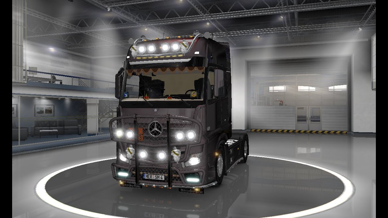 ets2 euro truck simulator 2 mercedes actros mp4 tuning. Black Bedroom Furniture Sets. Home Design Ideas